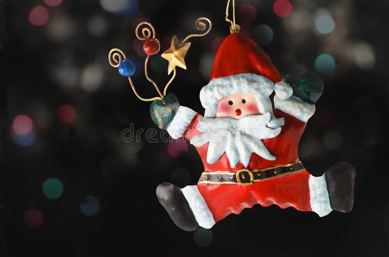 Estaño Papá Noel fotografía de archivo libre de regalías