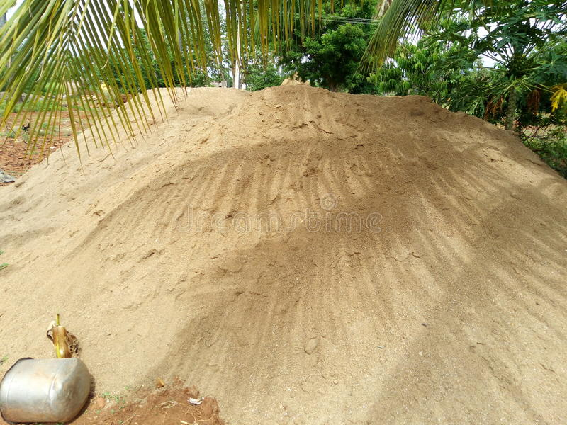Esta é areia indiana muito agradável imagens de stock royalty free