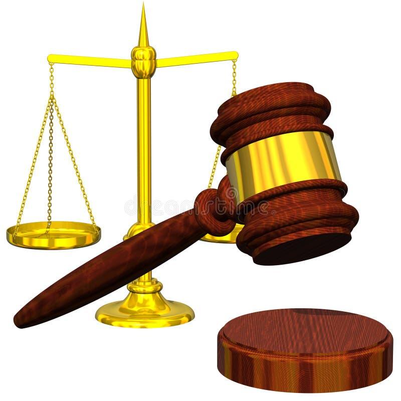 Esta é a lei ilustração royalty free