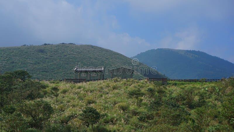 Esta casa no parque yangmingshan da nação fotografia de stock