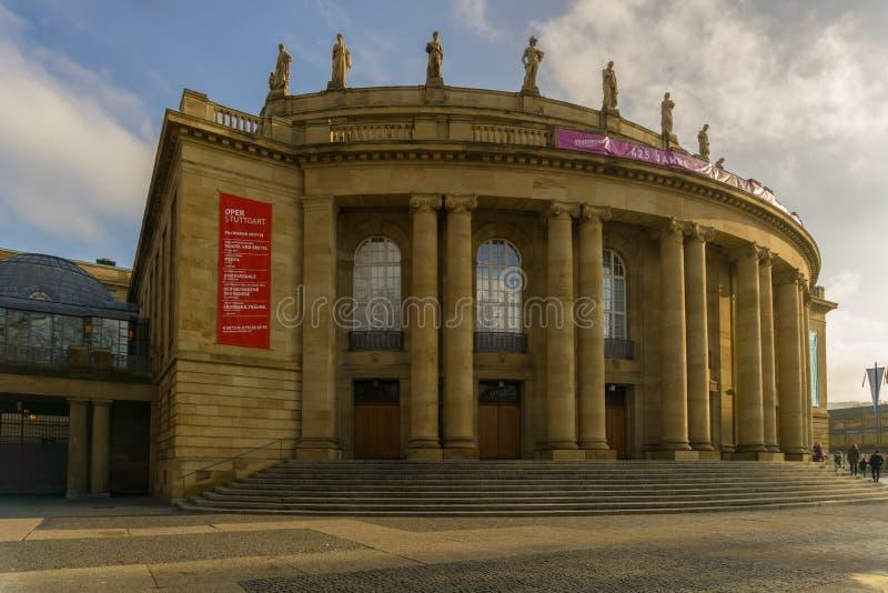 Esta construção para eventos culturais está no Oberer Schlossgarten perto de Koenigstrasse imagem de stock royalty free