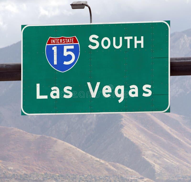 Esta maneira a Las Vegas foto de stock royalty free