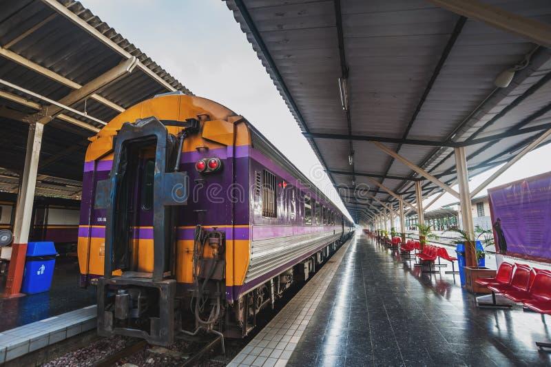 Esta??o de caminhos-de-ferro de Chiangmai fotografia de stock royalty free