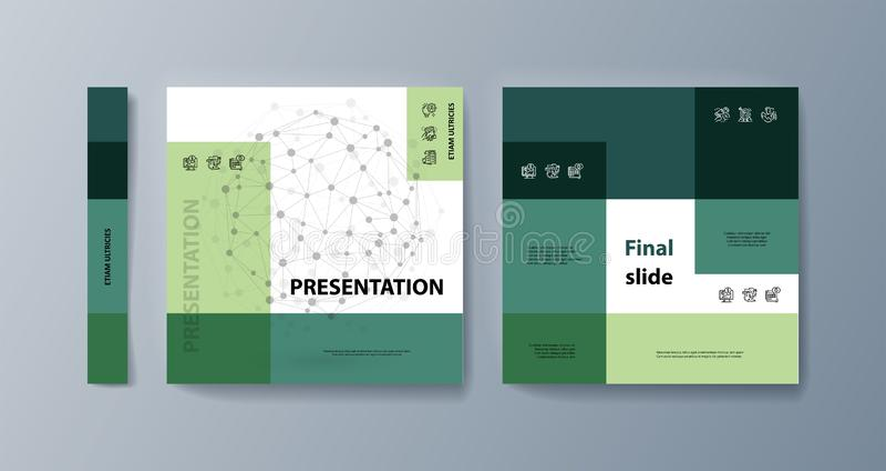 Esta plantilla es el mejor como presentaci?n del negocio, usada en el m?rketing y la publicidad libre illustration