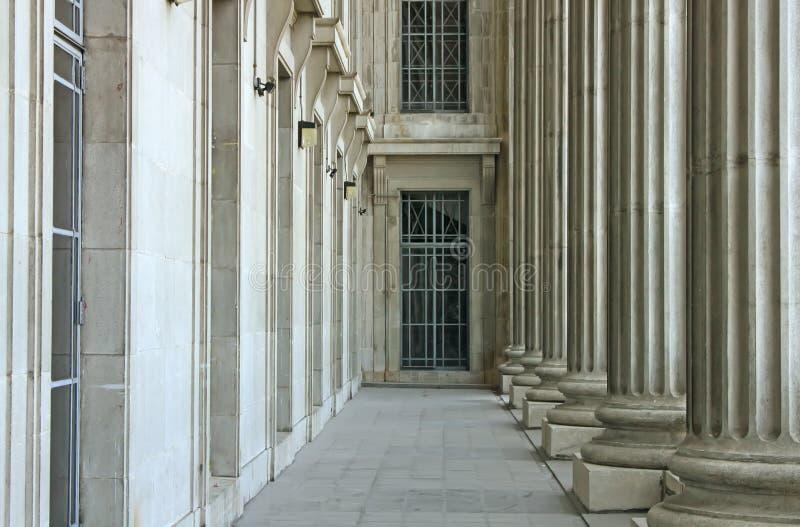 Estabilidad de la ley, de la orden y de la justicia fotografía de archivo
