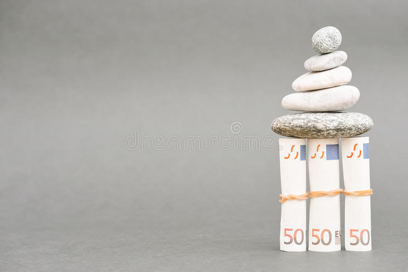 Estabilidade financeira imagens de stock royalty free