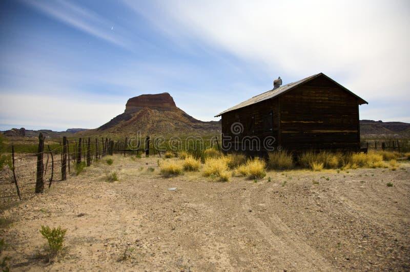 Establecimiento abandonado del desierto fotografía de archivo libre de regalías