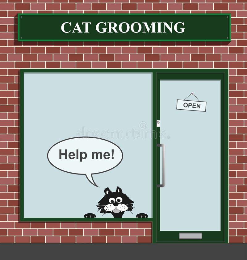 Establecimiento de preparación del gato libre illustration