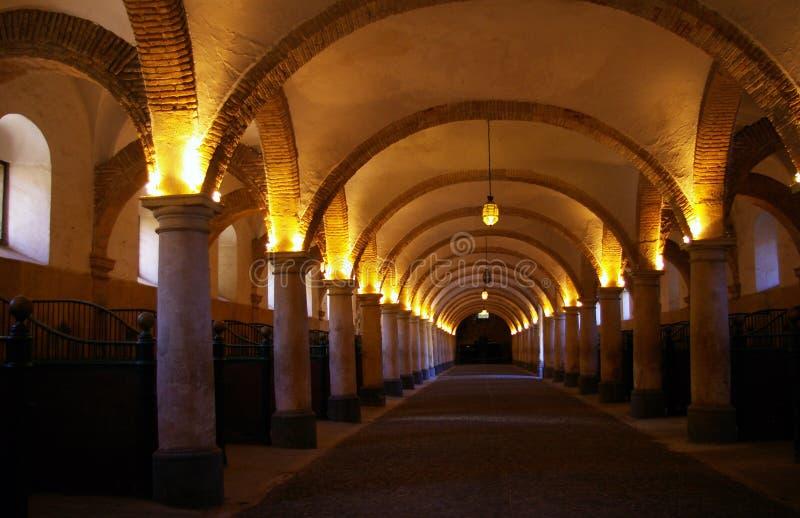 Establos reales de Córdoba. imagenes de archivo