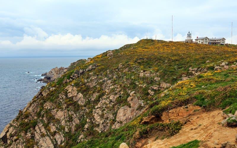 Estaca DE Bares Lighthouse Spanje stock foto