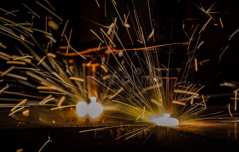 Estaca de gás do metal fotografia de stock royalty free