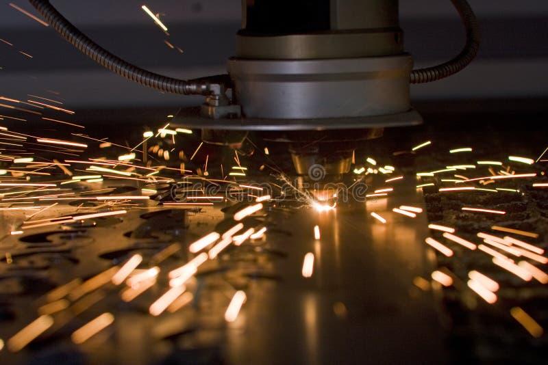 Estaca do laser imagem de stock royalty free
