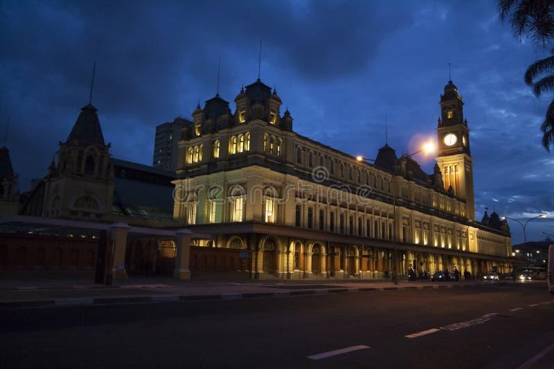 Estacao a Dinamarca Luz, Sao Paulo imagem de stock royalty free