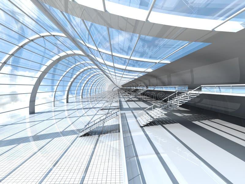 Estación aérea ilustración del vector
