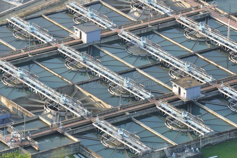 estación Agua-contaminada foto de archivo