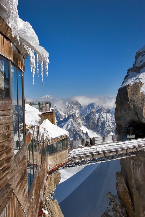 estación Alto-montañosa. fotografía de archivo libre de regalías