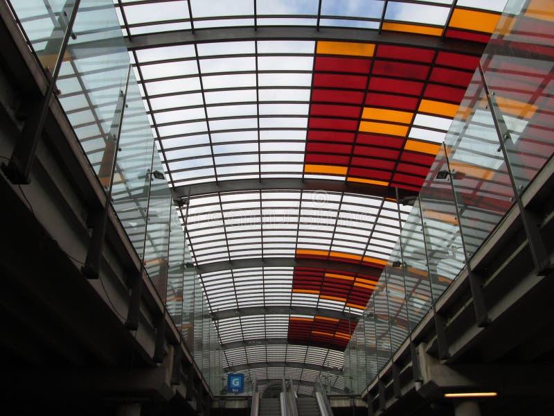 Estación central Amsterdam fotos de archivo libres de regalías