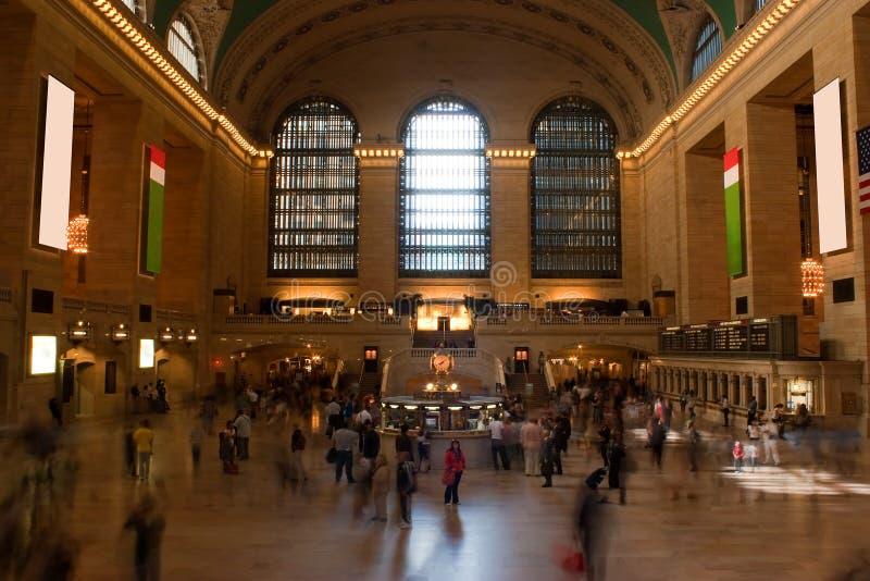 Estación central magnífica foto de archivo libre de regalías