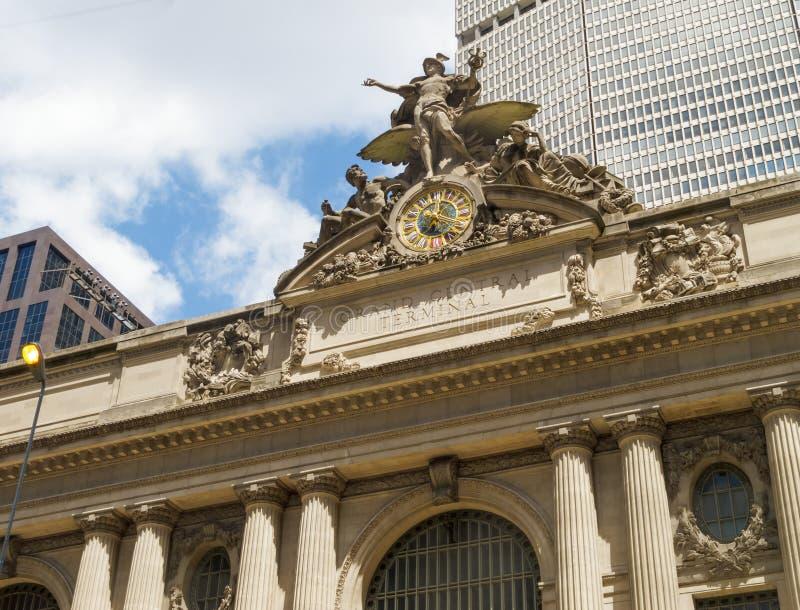 Estación central magnífica, Nueva York imagen de archivo