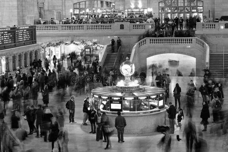 Estación central magnífica NYC foto de archivo libre de regalías