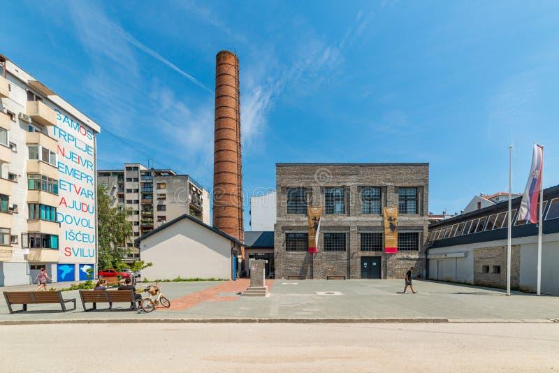 Estación cultural Svilara en Novi Sad fotos de archivo