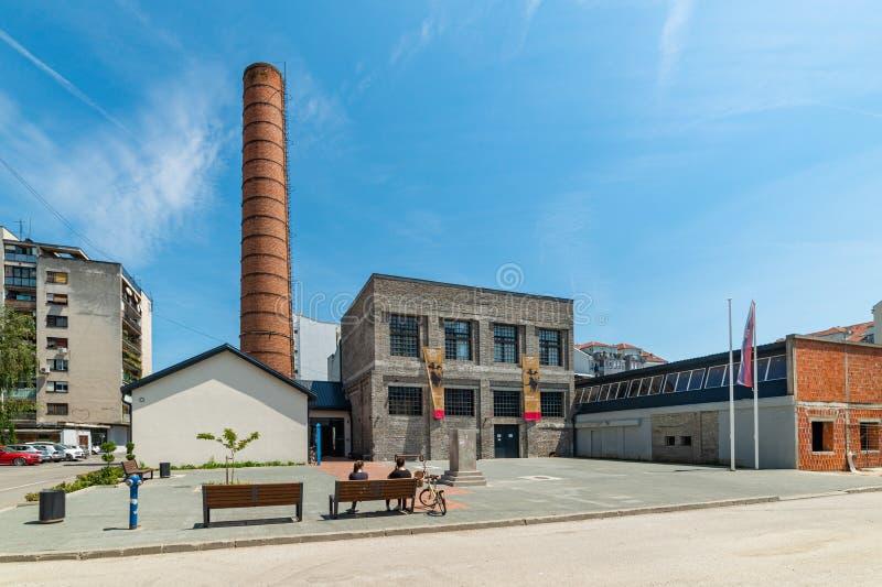Estación cultural Svilara en Novi Sad foto de archivo libre de regalías
