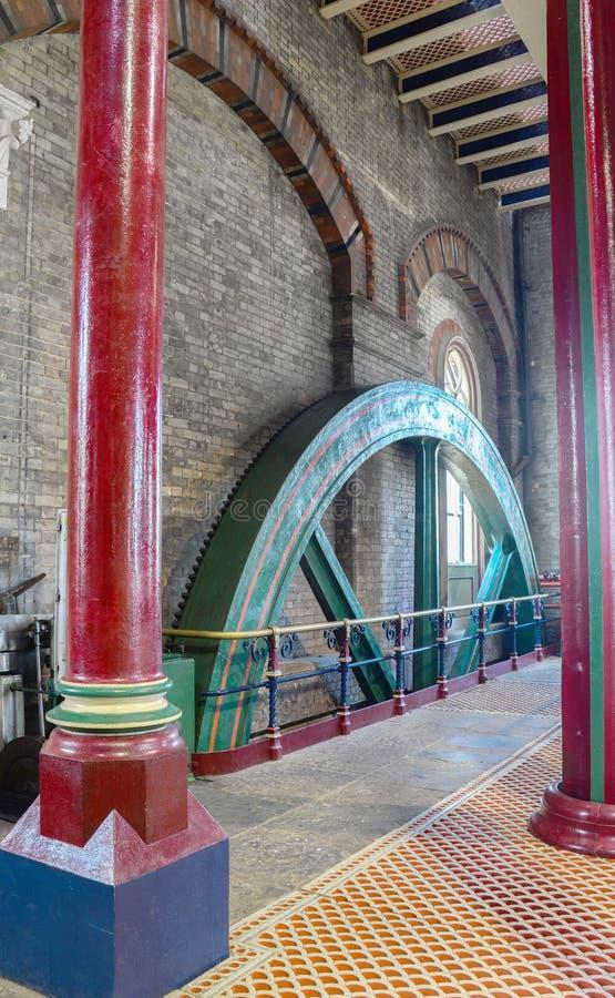 Estación de bombeo victoriana del enojo foto de archivo