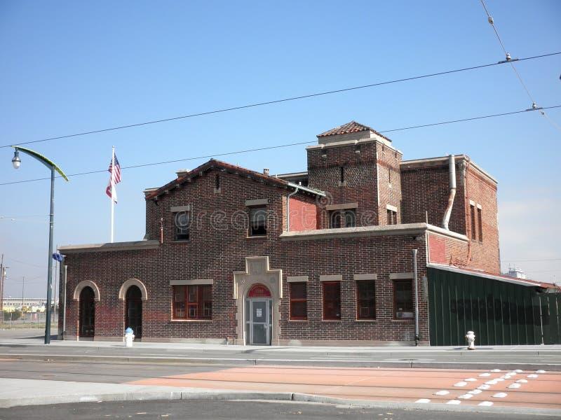 Estación de bomberos no 4. imagen de archivo libre de regalías
