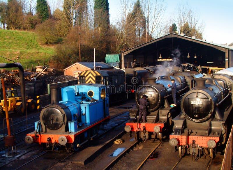 Estación de Bridgnorth foto de archivo libre de regalías