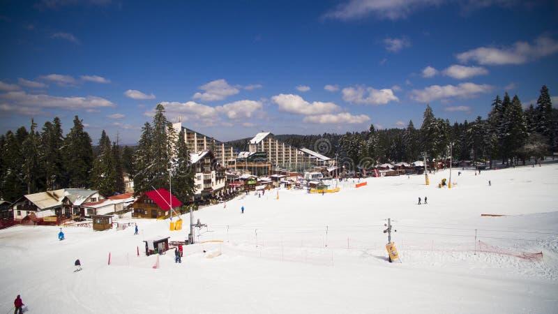 Estación de esquí de Borovets, Bulgaria foto de archivo libre de regalías