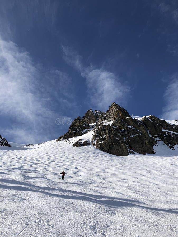 Estación de esquí de Squaw Valley imagen de archivo libre de regalías