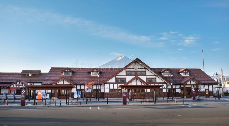Estación de Kawaguchiko imagen de archivo