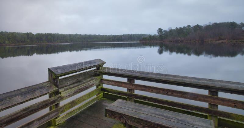 Estación de la pesca fotos de archivo libres de regalías