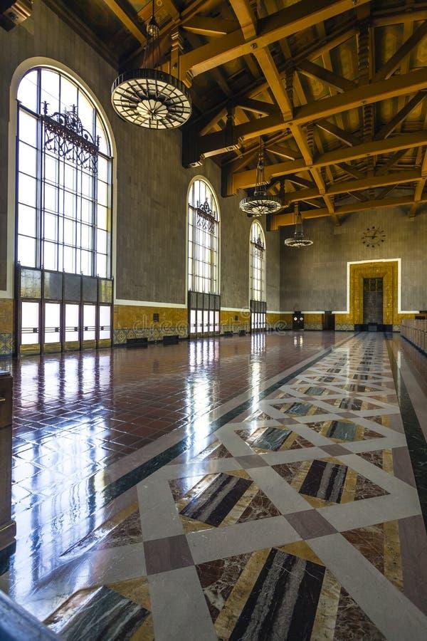 Estación de la unión de Los Ángeles fotos de archivo