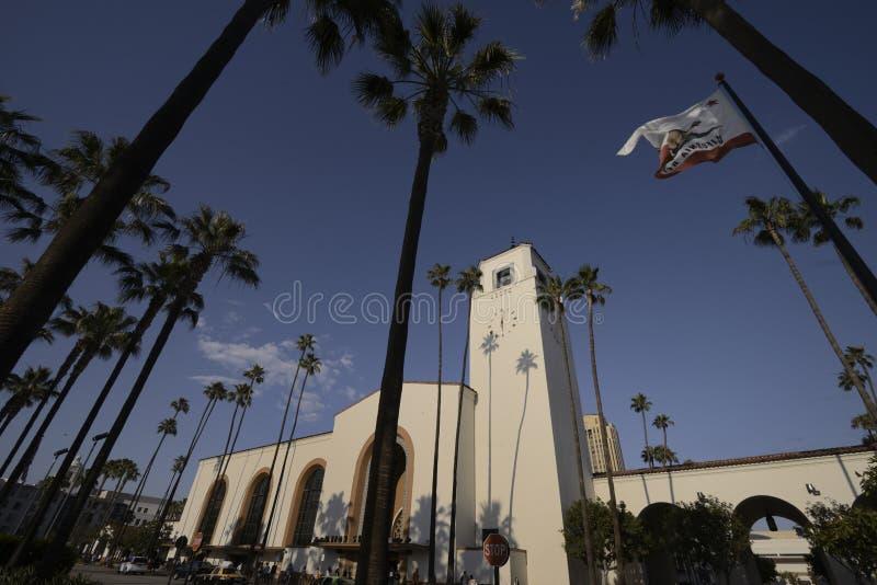 Estación de la unión de Los Ángeles fotografía de archivo libre de regalías