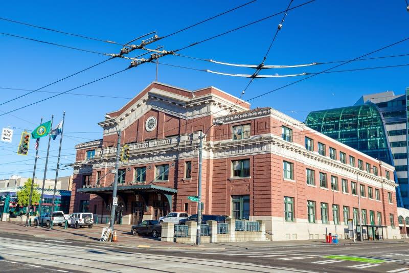 Estación de la unión en Seattle fotos de archivo