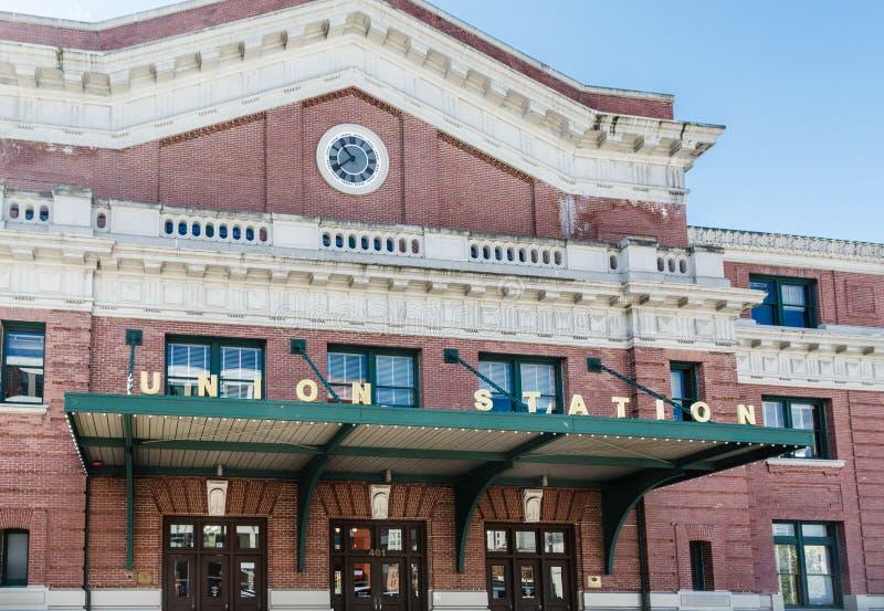 Estación de la unión en Seattle foto de archivo