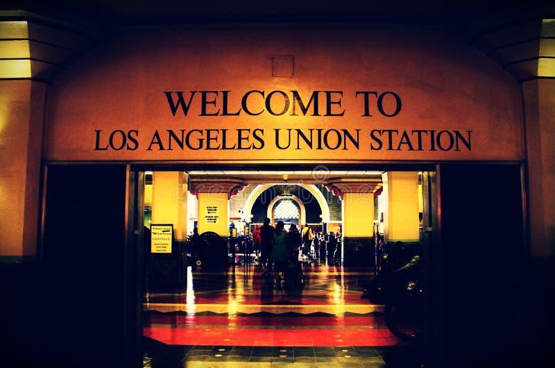 Estación de la unión, Los Ángeles, CA imágenes de archivo libres de regalías