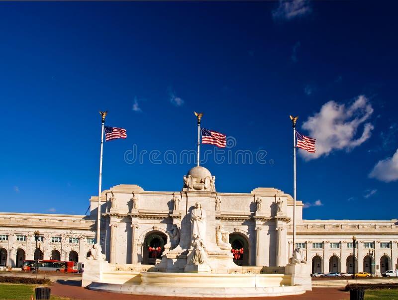 Estación de la unión - Washington DC imágenes de archivo libres de regalías