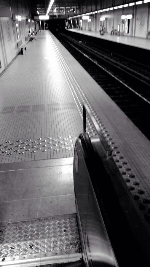 Estación de metro la manera interior fotografía de archivo libre de regalías