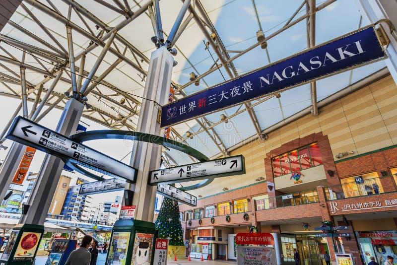 Estación de Nagasaki fotos de archivo