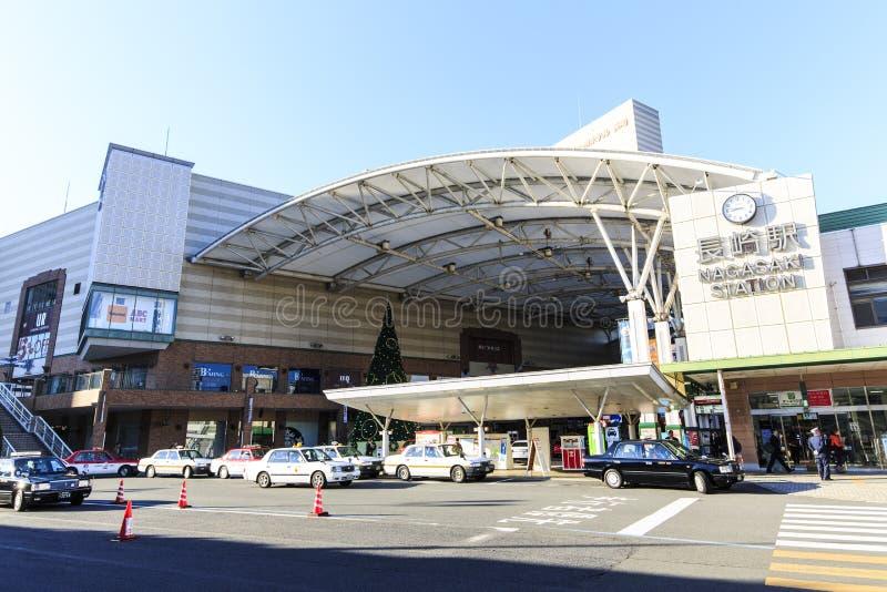 Estación de Nagasaki imágenes de archivo libres de regalías