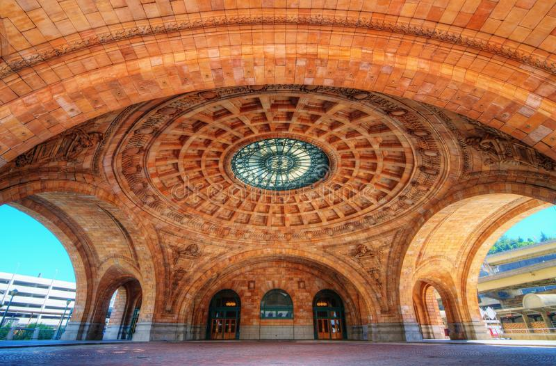 Estación de Penn foto de archivo