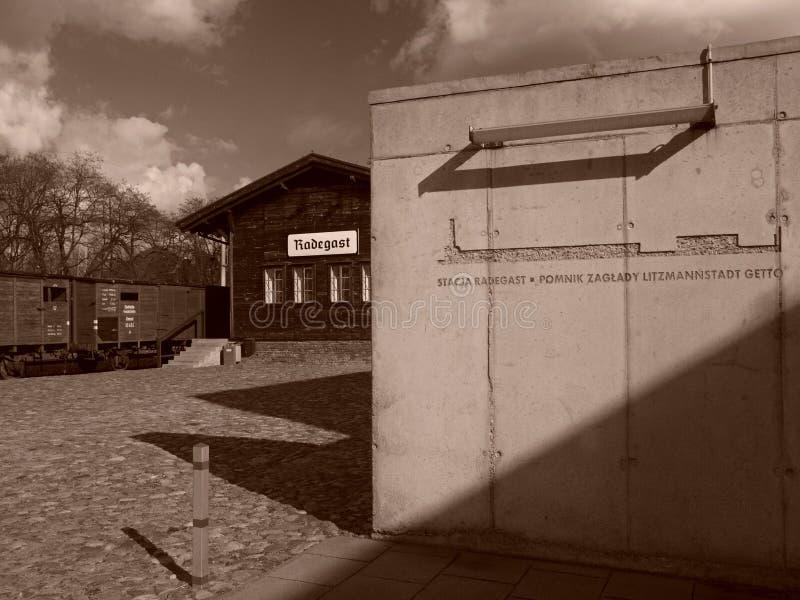 Estación de Radegast, de aquí a la eternidad foto de archivo