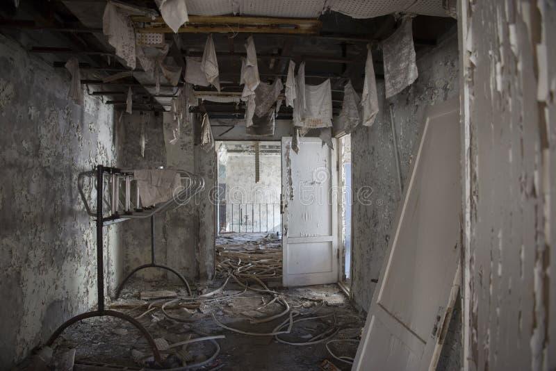 Estación de radio de Chernóbil imagenes de archivo
