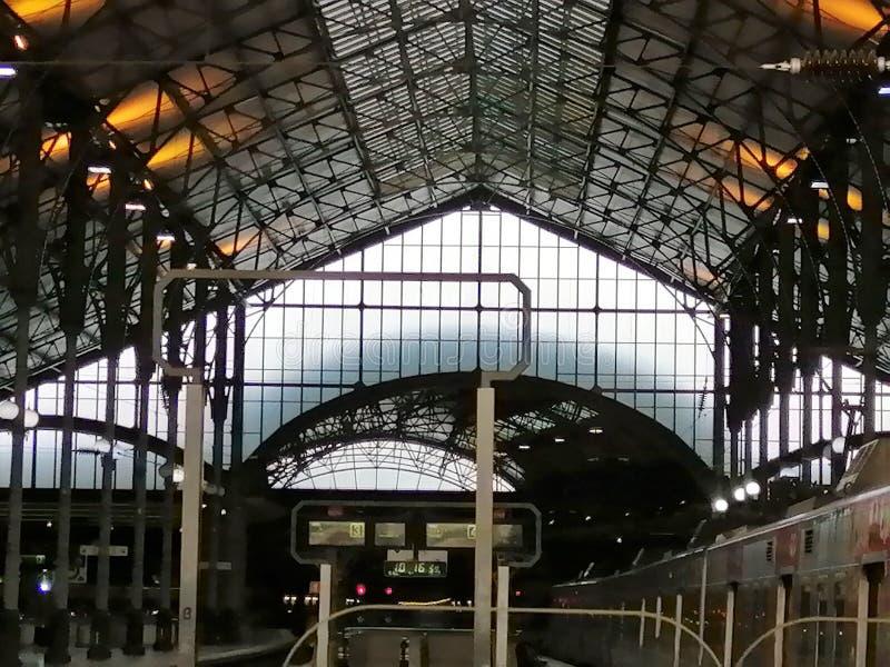 Estación de Rossio - Lisboa-Portugal-Europa foto de archivo