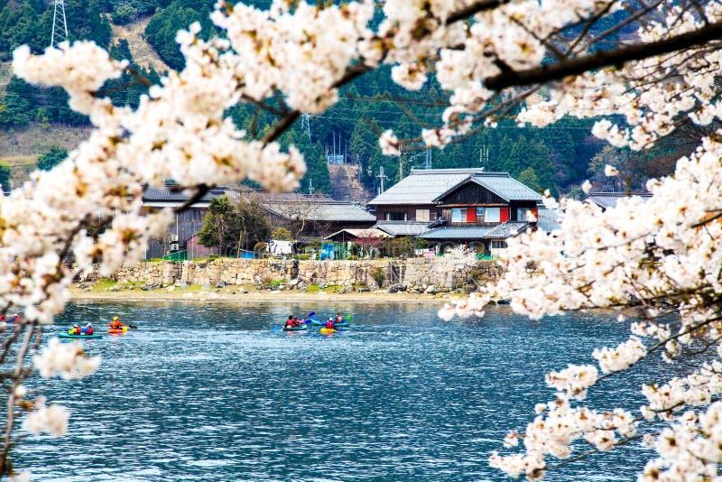 Estación de Sakura en Japón foto de archivo