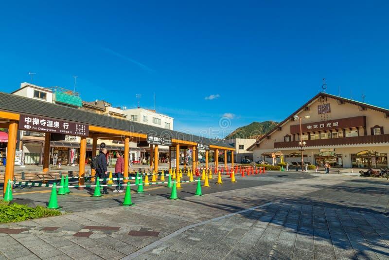 Estación de Tobu- Nikko imágenes de archivo libres de regalías
