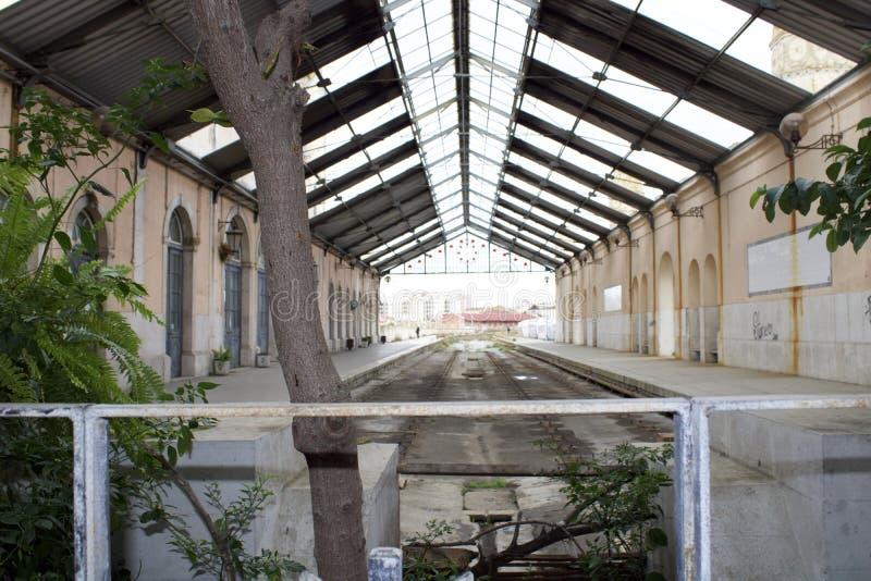 Estación de tren Barreiro imagen de archivo