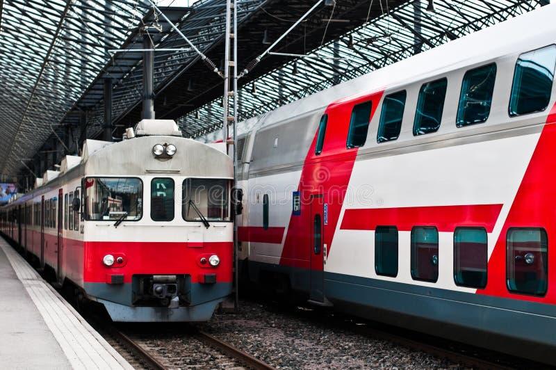Estación de tren de Helsinki imagen de archivo libre de regalías